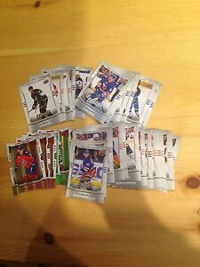Hockey card inserts and parallel for sale
