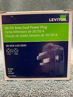Leviton Angle Plug 3050amp-125250volts Duel Grounding Plug