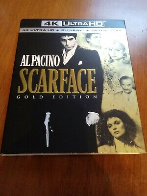 Scarface SLIPCOVER ONLY from 4K No Discs Please Read Gold Edition Al Pacino