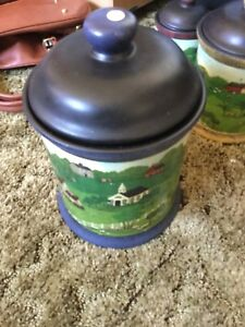 Country Canister Set
