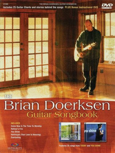 The Brian Doerksen Guitar Songbook 25 Songs! Book Dvd Set NEW!