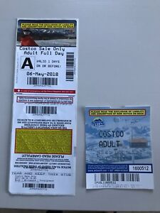 Sunshine village and lake Louise ski lift tickets for sale