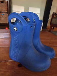 Crocs rubber boots