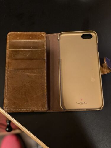 IPhone 6 Plus Pierre Cardin Leather Wallet Case With Extra UAG Case  - $22.99