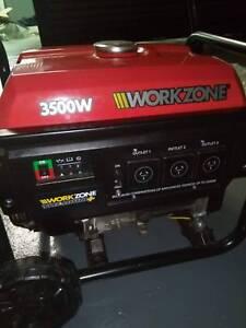 3500w INVERTER GENERATOR WITH PURE SINE WAVE - Workzone Titanium