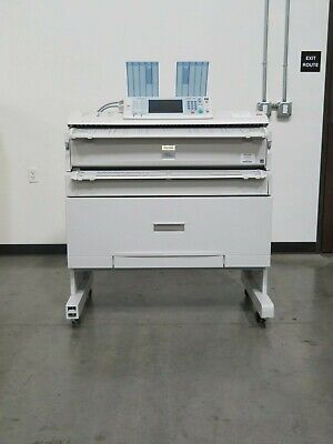 Ricoh Mpw3601 W3601 3601 Wide Format Printer Scanner Copier - 4k Meter