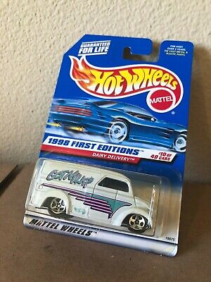 HOT WHEELS 1998 FIRST EDITIONS GOT MILK DAIRY DELIVERY #645