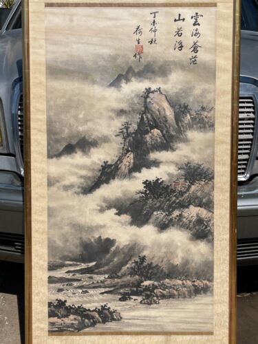 Antique Chinese scroll  19/18c possibly