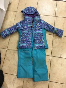 Girl size 4 snow suite