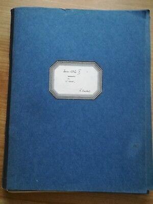 Noten. Haydn. Trio-Album II. Partitur und Stimmen.
