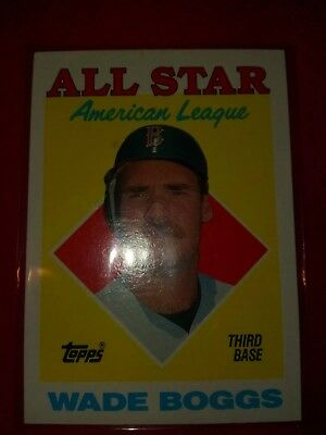 1988 Topps All Star #388 Wade Boggs  Boston Red Sox 🌠🌠🌠🌠🌠🌠FREE SHIPPING🌠 for sale  Osceola