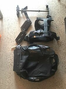 Glidecam x10 smooth shooter with vest, arm, hd-4000
