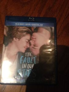 The Fault In Our Stars Movie DVD/Blu-Ray