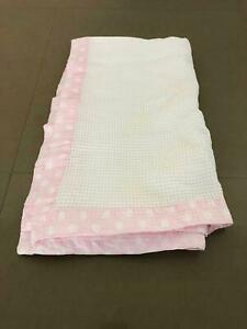 Girls Bubba Blue Cot Blanket Fits Boori VGC