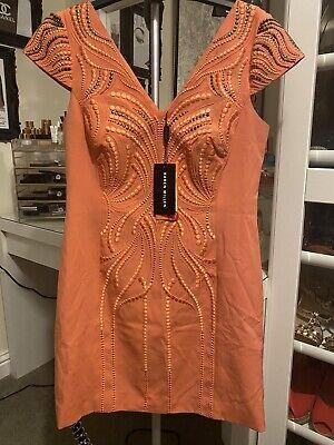 Karen Millen Wiggle Bodycon Dress 12 BNWT