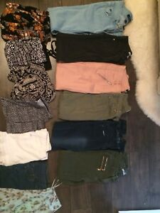 Teen girl size s/xs clothing lot