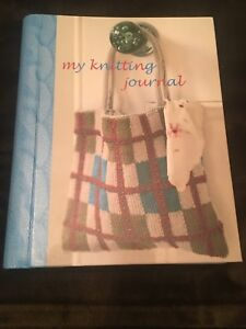 New My Knitting Journal Book