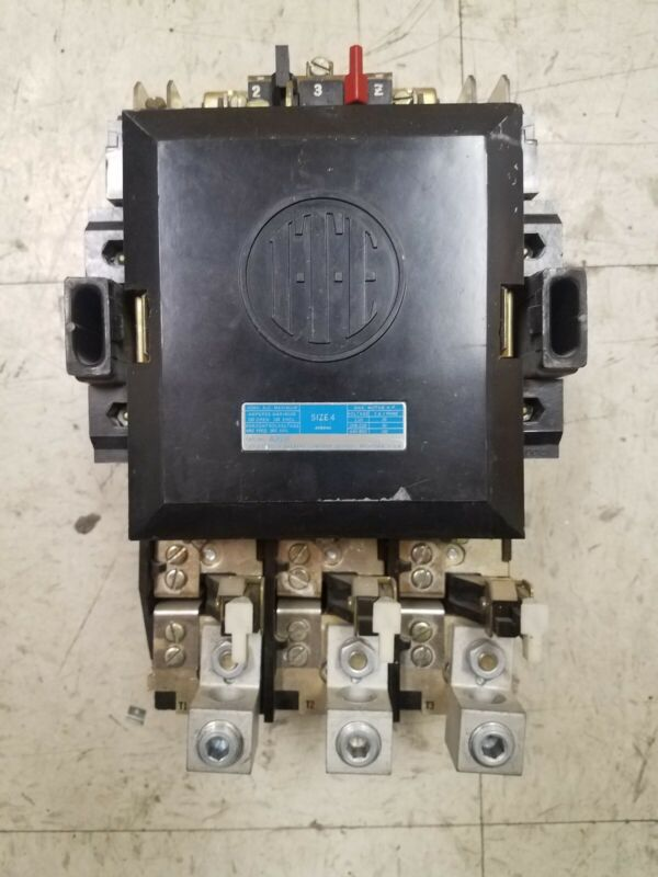 ITE A203F MOTOR STARTER SIZE 4 150A 600V 120V COIL T58 HEATERS