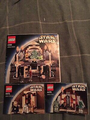 Lego Star Wars 4475 4476 4480 Jabba's Message, Prize, Palace