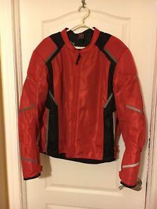 Manteau de moto FirstGear pour homme XL