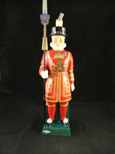 Vintage The Beefeater Dry Gin Yeoman Carlton Ware Handpainted Ceramic Decanter