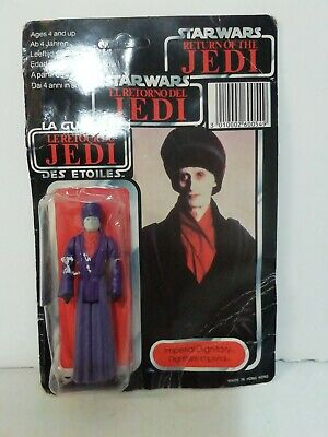 STAR WARS Vintage Palitoy IMPERIAL DIGNITARY TRI-LOGO