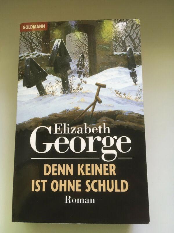 Elizabeth George - Denn keiner ist ohne Schuld -Krimi