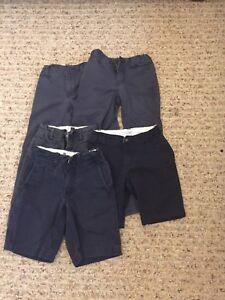 5 short & long  boys school pants