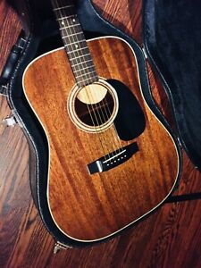 Takamine F-349 Mahogany Acoustic Guitar Made in Japan
