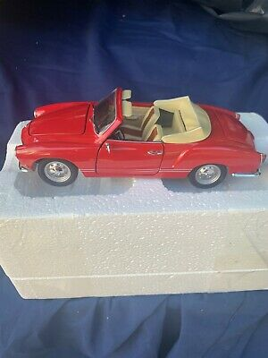 1/24 VW Karmann Ghia Red Convertible Paul,s Auto Art NO Reserve