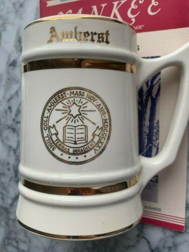 Fine & Scarce AMHERST College GRADUATION Mug Classic Historical Student Tankard