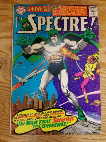 Showcase #60 The Spectre! 1st Silver Age Appearance of The Spectre
