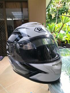 Shoei T-ZX motorbike helmet