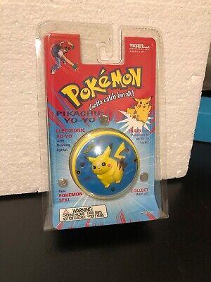 POKEMON PIKCACHU ELECTRONIC YO-YO W/FLASHING LIGHTS, NEW IN FACTORY SEALED, 1998 - Pokemon Yo
