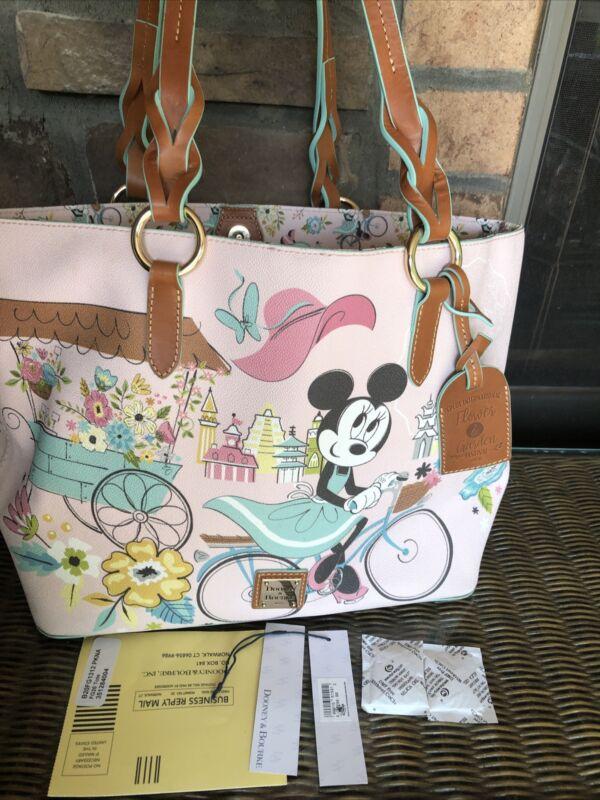 Disney 2020 EPCOT Flower & Garden Festival Dooney & Bourke Minnie Tote Bag