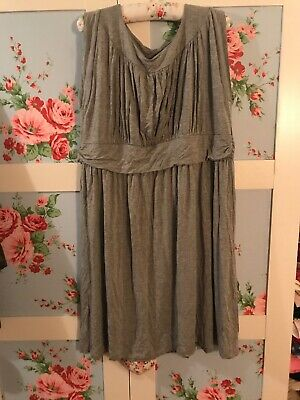 ❤️MODCLOTH USA GILI PLUS SIZE 18/20 STRETCH JERSEY GRECIAN STYLE VERY SEXY DRESS Grecian Jersey