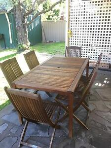 6 Seat Outdoor Table Glenelg South Holdfast Bay Preview