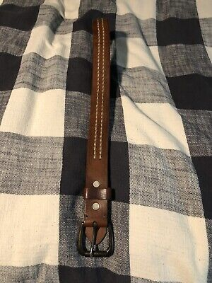 Abercrombie & Fitch Leather Belt 32