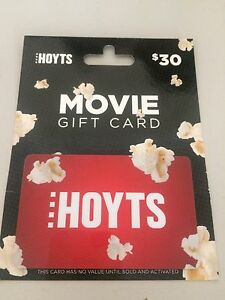 Hoyts movie gift card Noranda Bayswater Area Preview