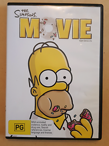 The Simpsons Movie DVD South Morang Whittlesea Area Preview
