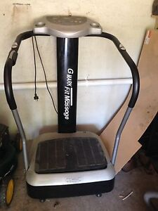 Used: Vibration exercise massage machine Bentleigh East Glen Eira Area Preview