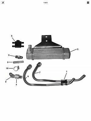 Harley Davidson Dyna Oil Cooler Kit 62871-99