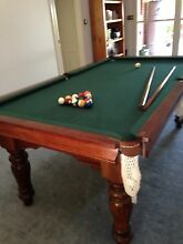 Harry Evans & Sons 8FT Pool / Billiard Table *perfect condition* Surf Coast Preview