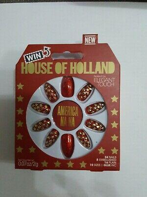 House of Holland False nails America Na Na by Elegant touch