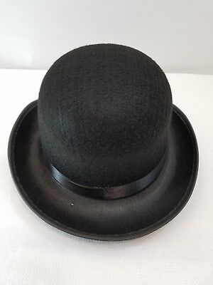 Lot of 6 CHILD Derby Bowler Hats Black Dance Costume Prop Halloween Jazz Tap New - Wholesale Derby Hats