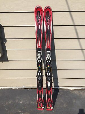 K2 Apache Chief 167 cm Skis with Salomon 710 Demo Bindings for sale  Vermontville