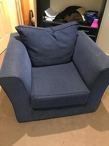 Blue sofa set Brunswick West Moreland Area Preview