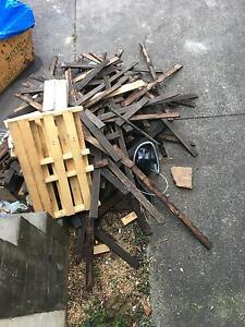 Free hardwood for firewood Lane Cove Lane Cove Area Preview