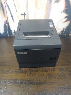 Epson M129c Point Of Sale Thermal Printer Wpower Supply Tested Working No Usb