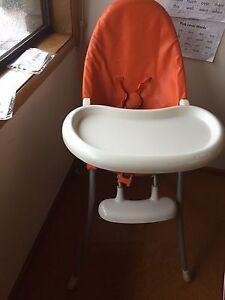 High chair Chapman Weston Creek Preview